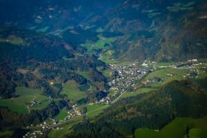 Göstling aus der Vogelperspektive - Urlaub am Bauernhof - Göstling/Lassing/Hochkar