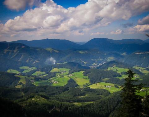 Ausflugsziel: Schwarzalm im Sommer - MendlingBauer - Urlaub am Bauernhof - Göstling/Lassing/Hochkar