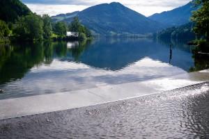 Ausflugsziel: Lunzersee im Sommer - MendlingBauer - Urlaub am Bauernhof - Göstling/Lassing/Hochkar