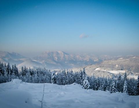 Ausflugsziel: Hochkar/Ringkogel im Winter - MendlingBauer - Urlaub am Bauernhof - Göstling/Lassing/Hochkar